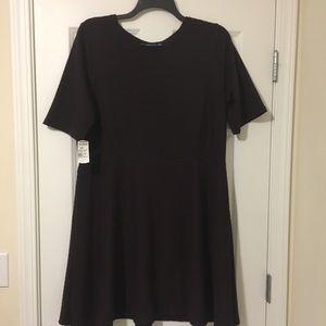 New XXL Apt 9 Dark Purple Midi Dress 20W